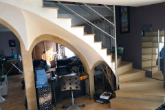 Escalier sur voute sarrasine à Plappeville 005