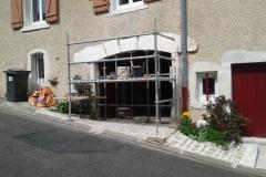 Arc surbaissé à Bulligny (54)